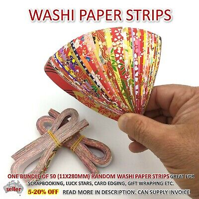 Washi Paper Strips Origami Card Making Paper Quilling Lucky Star Japanese Craft