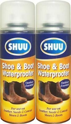 Waterproof Shoe & Boot Cleaner Spray Leather Suede Canvas Shoe Protection 200Ml