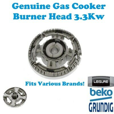 EUROMAID Gas Cooker Oven Burner Head 3.3 Kw