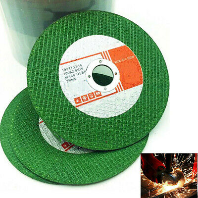 """4"""" Thin Resin Cutting Grinding Discs Wheel For Cut Off Steel Metal Angle Grinder"""