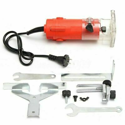 300W 220V Electric Hand Trimmer Wood Laminate Palm Router Joiner Tool + EU PLUG