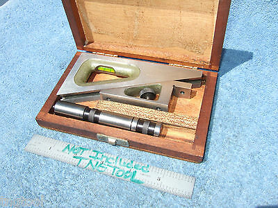 Planer Gage W/Case Helios  Machinist German Made Many More Us Made Here