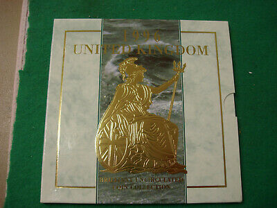 1996 United Kingdom Brilliant Uncirculated Coin Collection  FREEPOST