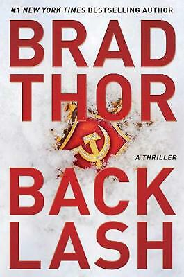 Backlash: A Thriller by Brad Thor Hardcover Book Free Shipping!