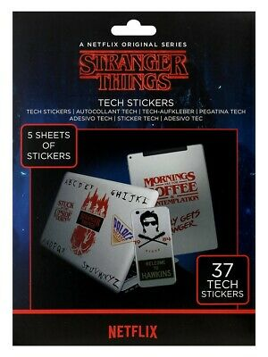 Stranger Things Gadget Decals Tech Stickers