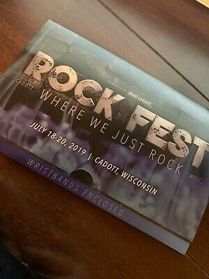 Rock Fest (Reserved Lawn Sears, VIP Camping, Pit Passes)