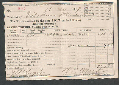 1926 COMPLETED INDIVIDUAL US INCOME TAX RETURN Form 1040 W