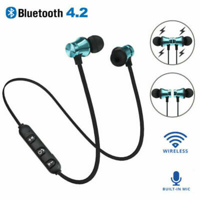 Cool bluetooth 4.2 Earphone Headset Wireless Stereo Magnetic Earbud For Phone CY