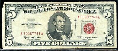 Series of 1963 United States $5 Note EG943