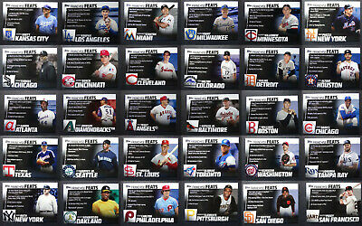 2019 Topps Series 2 Franchise Feats Baseball Cards Complete Your Set Pick 1-30