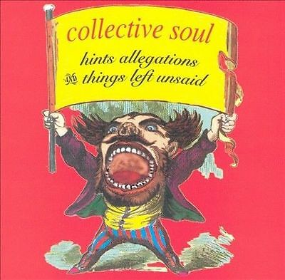 Collective Soul Hints Allegations Things Left Unsaid 1993 Music CD Free S/H