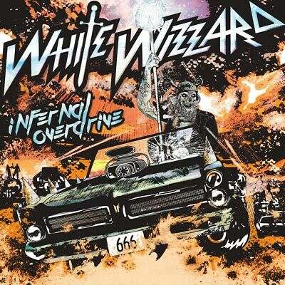 White Wizzard - Infernal Overdrive - CD - New