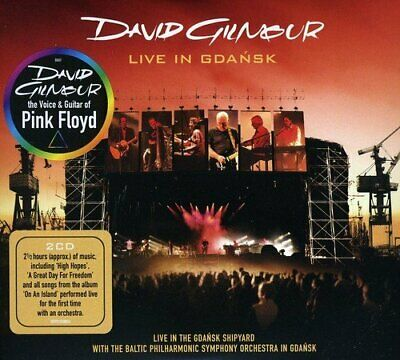 David Gilmour - Live In Gdansk - Double CD - New