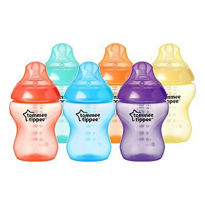 Tommee Tippee Closer to Nature Fiesta Fun Time Baby Feeding Bottles, Anti-Colic