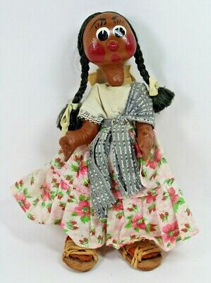Vintage Hand Made South American Rag Doll