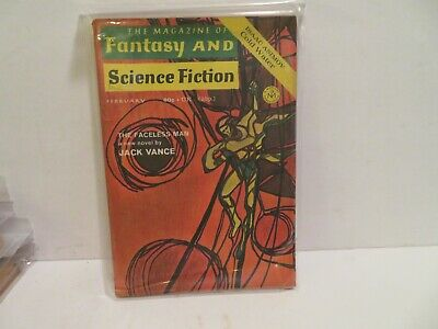 The Magazine of Fantasy and Science Fiction FEB 1971 JACK VANCE