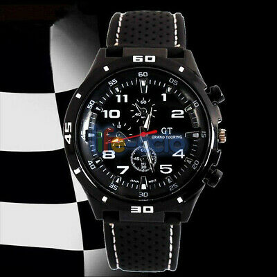 Men's Watches Quartz Stainless Steel Analog Sports Male Military Wrist Watch New