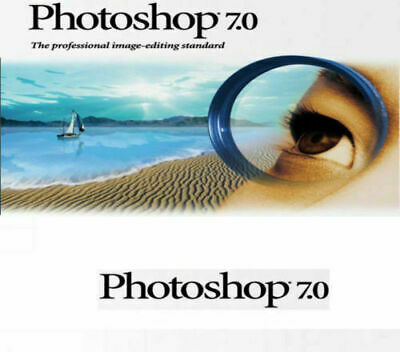 Adobe Photoshop 7.0 ⭐ Photo Logiciel D'édition ⭐ officiel Télécharger ⭐ Serial K