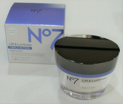 No7 Lift & Luminate Triple Action1 Day Cream 50ml New & Sealed