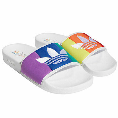 Adidas Originals Adilette Pride Beach Shoes Badeslider Slippers Shoes New