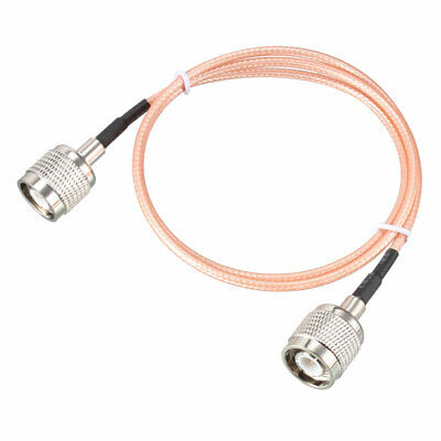 RG316 RF Coaxial Cable TNC Male to TNC Male Pigtail Cable 2 ft