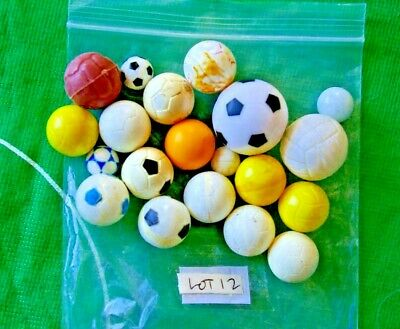 Subbuteo>>>18 DIFFERENT Logo various sizes  good to playworn condition>>>LOT 12