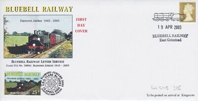 STAMPS STEAM RAILWAY SOUVENIR / FIRST DAY COVER FROM RARE COLLECTION No 031