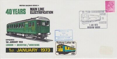 STAMPS STEAM RAILWAY SOUVENIR / FIRST DAY COVER FROM RARE COLLECTION No 057