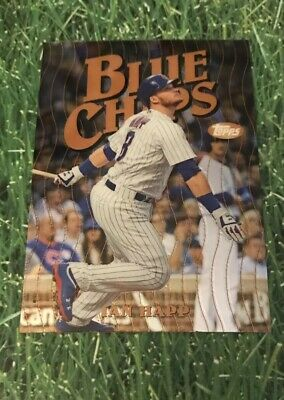 2019 Topps Finest Blue Chips insert Chicago Cubs IAN HAPP