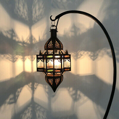 Hanging-MOROCCAN-LANTERN-SHAPE-CHANDELIERS-CEILING-LIGHT-SHADE-Pendant-Bronze