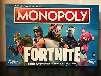 Fortnite Monopoly by Parker Bothers Boardgame