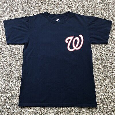 buy online eafb2 643e1 WASHINGTON NATIONALS BRYCE Harper T-shirt Jersey Size M