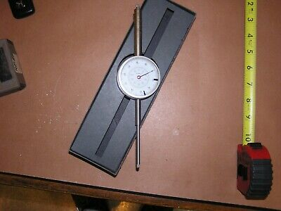 "Kafer 9"" Long Travel Metric Dial Indicator 0.01 Germany FREE Shipping"