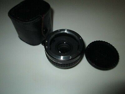 VIVITAR MC TELE CONVERTER 2X-22 Lens Made in Japan with Case