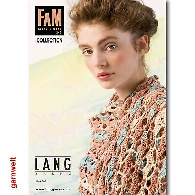 LANG YARNS Fatto A Mano Fam 250 layette Strickheft avec Tricot Instructions