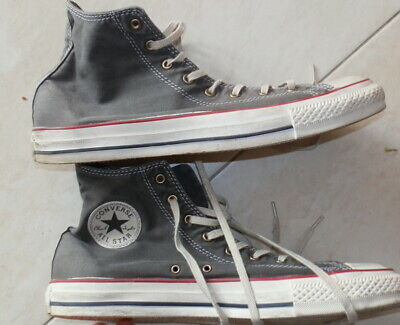 Wie Neu!  Converse Chuck All Star Classic Hoch Hi 43 Turnschuhe Chucks UK 9 1/2