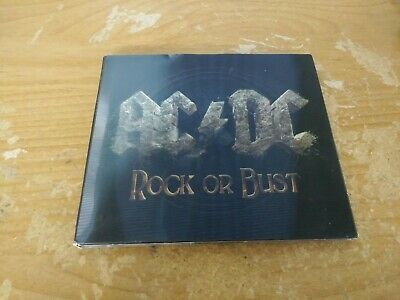 Ac Dc Rock Or Bust Hard Rock And Roll Blues Music Cd Album Disc Holographic 2014