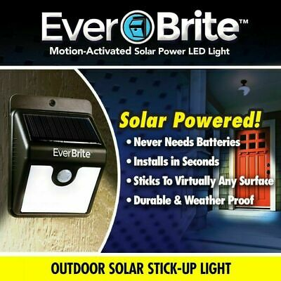Ever Brite Led Outdoor Light-AS ON TV Everbrite Solar Powered & Wireless Garden