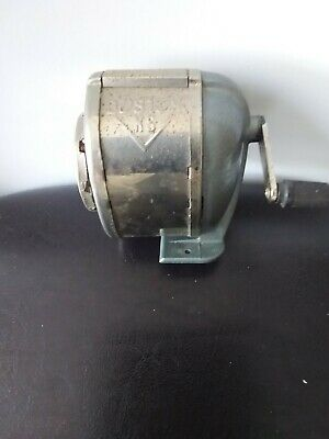 Vintage:::: Boston KS Pencil Sharpener :::: 8 Hole::: Works Great
