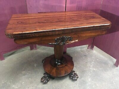 Folding Card / Console Table 1800s