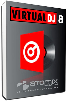 Virtual DJ Pro 8 Infinity For Windows Digital Download Pre-Activated