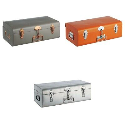 Habitat Small Galvanised Trunk - Choice of Colour