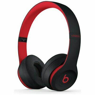 Beats by Dre Solo 3 On Ear Wireless Headphones Decade Collection Black/Red