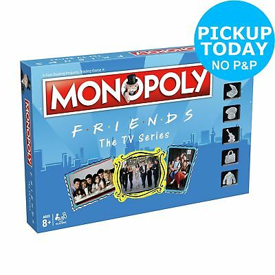 F.r.i.e.n.d.s. Monopoly Board Game - 2-4 Players.