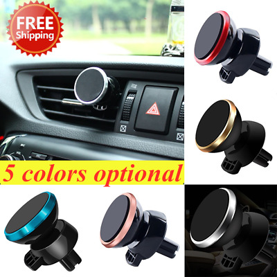Universal In Car Phone Magnetic Holder Air Vent Mount 360° Smart Mobile Phone ta