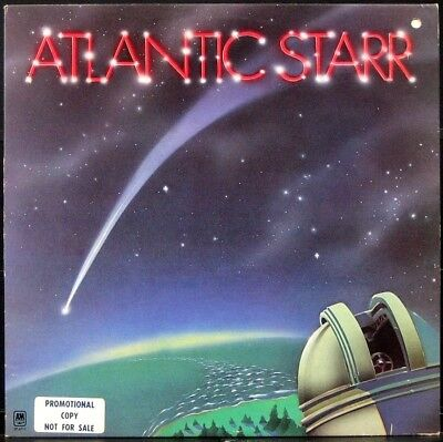 'ATLANTIC STARR' 1978 1st press Never played white label Promo Soul LP