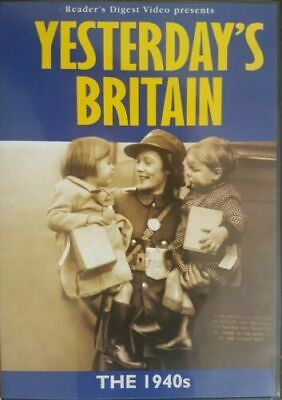 Yesterday's Britain The 1940S Dvd New Sealed War Time All Regions
