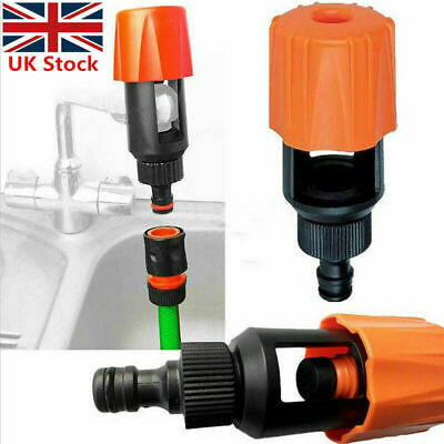 Universal Kitchen Mixer Tap To Garden Hose Fitting Pipe Connector Yard Adapter