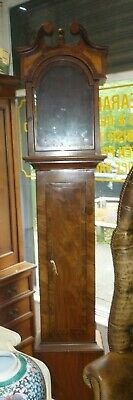 Good Antique Longcase Grandfather Clock Case To Fit 12ins By 17ins Dial