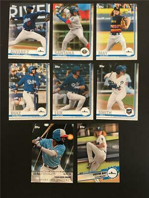 2019 Topps Pro Debut Los Angeles Dodgers Master Team Set 8 Cards Minor League